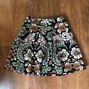 H&M | 2 | Floral Skater Skirt